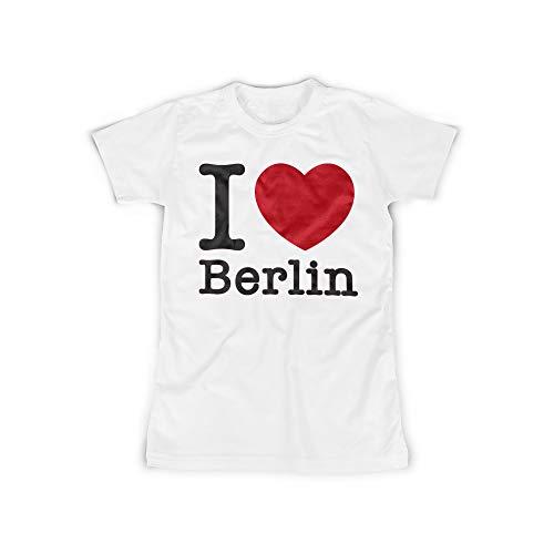 licaso Frauen T-Shirt mit I Love Berlin Aufdruck in White Gr. XXXXL I Love Berlin Design Top Shirt Frauen Basic 100{e02b903a968a6d94d6afc31ef3e795edaa785aa3195783d7f5922c63b20ac514} Baumwolle Kurzarm