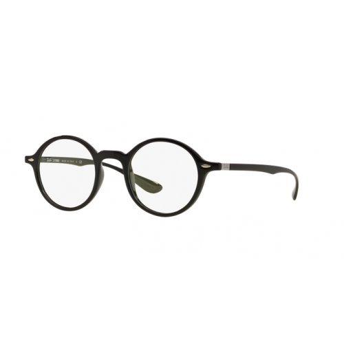 Ray-Ban Unisex-Erwachsene Brillengestell RX7069, Schwarz (Negro), 46