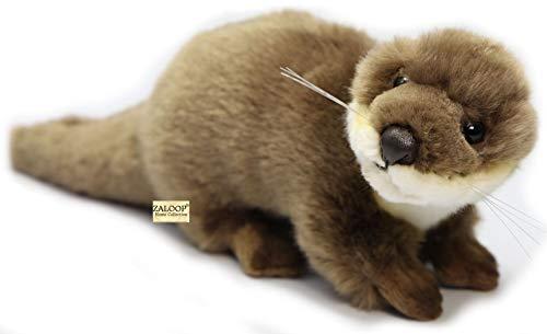 Otter ca. 26 cm Plüschtier Kuscheltier Stofftier Plüschotter 161 von Zaloop® (Otter ca.26 cm)