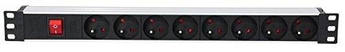 Ibiza LC806 - Ibiza LC806 - Base de enchufes de 8 vías...