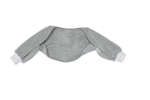 Odenwälder Ärmelinchen | Schlafsackärmel Babyschlafsack | Schlafsack Ärmel für Babyschlafsäcke, Größe:70, Design:grau