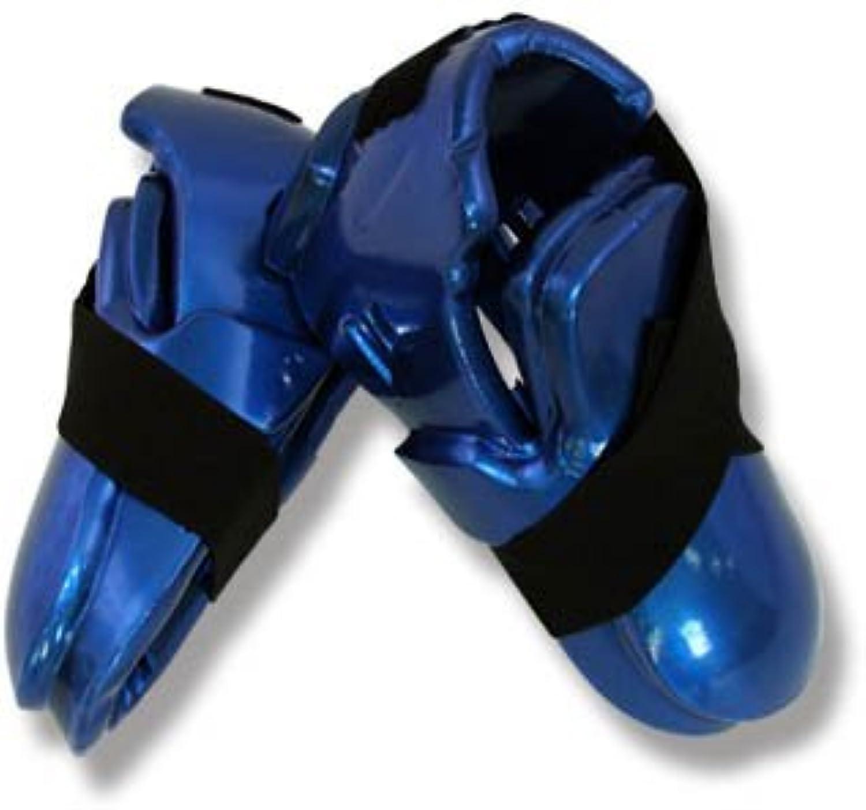 Artes marciales Sparring para botas doble capa - azul Talla:XS  -