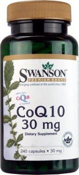 Swanson - CoQ10 (Coenzima Q10) 30mg, 240 Capsule - Coenzyme