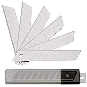 200 Stück Abbrechklingen - Ersatzklingen für Cuttermesser - 18 mm 0,5 Stärke von TD-Warenhandel - TapetenShop