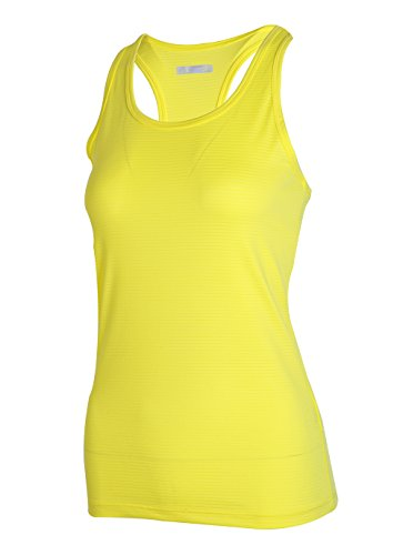 H.MILES Womens Tank Top Racerback Running T-Shirt Sleeveless Fitness Yoga Vest Gym Top Body Fit