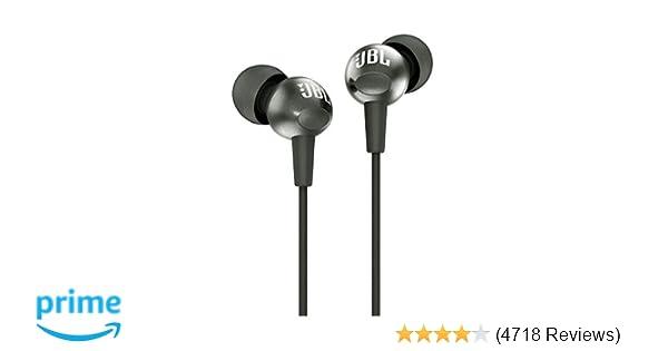 d86a52fc5de JBL C200SI in-Ear Headphones with Mic (Gun Metal): Buy JBL C200SI in-Ear  Headphones with Mic (Gun Metal) Online at Low Price in India - Amazon.in