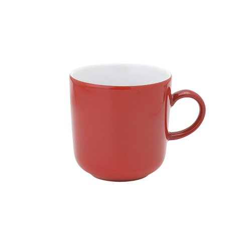 Kahla - Porcelaine pour les Sens 475300A60005C Pronto Colore Tasse à Café Rouge 8,5 x 9 cm