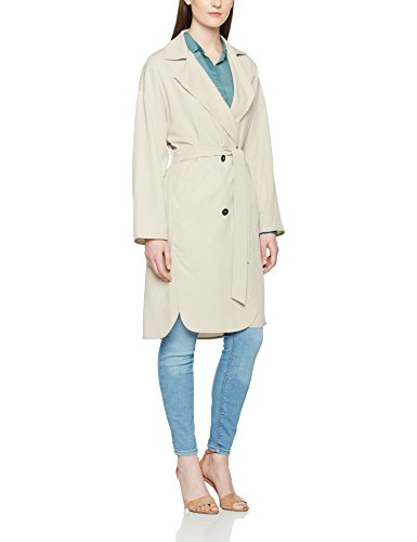 Marc O\'Polo Damen Mantel 703032071003, Grau (Sandy Stone 959), 38