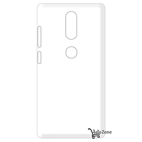 Hello Zone Exclusive Soft Transparent Crystal Clear Back Cover Back Case Cover For Lenovo Phab 2 Plus (6.4 Inched)