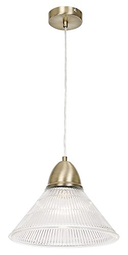 unique-antique-brass-pendant-light-with-clear-ribbed-shade-by-haysom-interiors