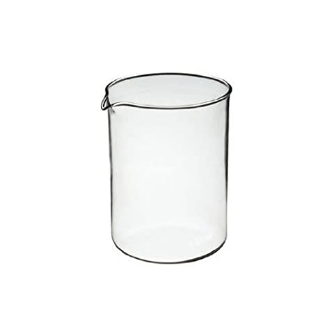 KitchenCraft Le'Xpress 4-Cup Cafetière Replacement Glass Jug, 650 ml (23 fl oz)