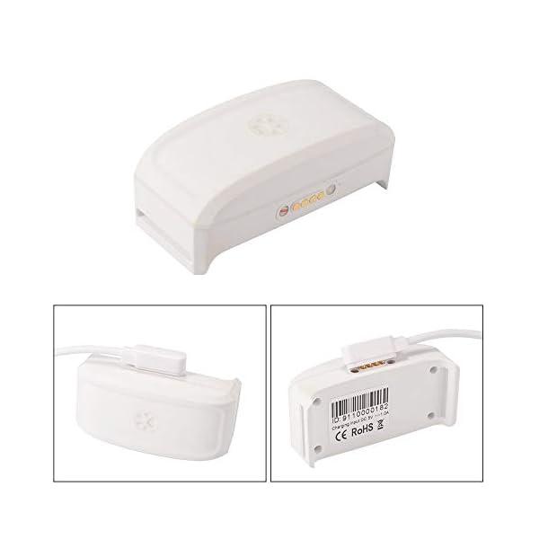 Zeerkeer Cable de carga rápida USB Fuerte alimentación magnética Cable USB para SmartWatch / Rastreador GPS / Relojes… 4