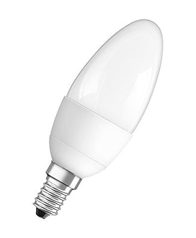 Osram LED Base Classic B, in Kerzenform mit E14-Sockel, Nicht Dimmbar, Ersetzt 40 Watt, Matt, Warmweiß - 2700 Kelvin, 3er-Pack
