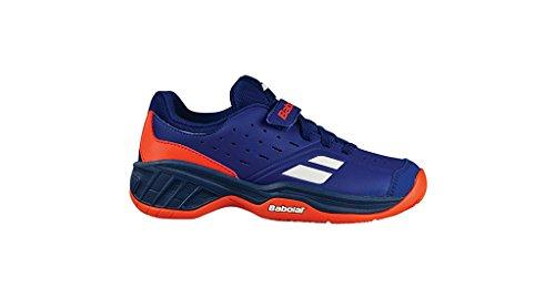 Babolat Pulsion Allcourt Outdoor Tennisschuh für Kinder (blau/ orange)-33