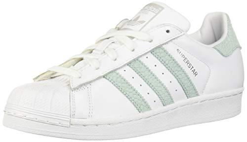 pretty nice 90c50 0ea24 adidas Superstar W, Scarpe da Fitness Donna, Bianco (Ftwbla Vercen Plamet