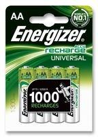 Energizer 626831Akku, 4Stück, Nickel Metall Hydrid, 1300mAh, 1,2V,