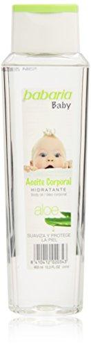 Baby Öl Aloe (babaria Aloe Vera Baby-Körperöl 400 ml)