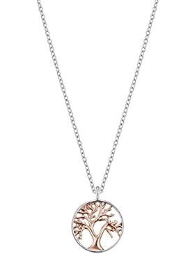 Engelsrufer Damen-Halskette Lebensbaum ERN-LILTREE-BICOR