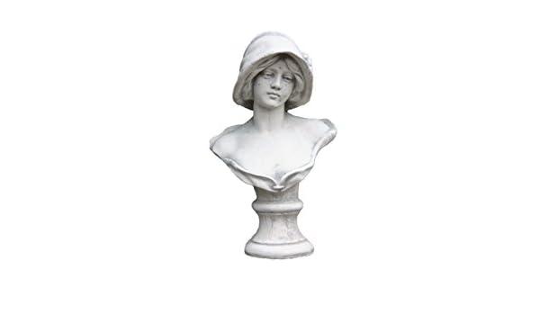 Steinfigur Frauenbüste klassisch