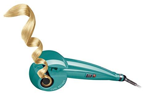 BaByliss Fashion Curl C905PE   Rizador para el pelo automático con recubrimiento de cerámica  2 temperaturas  color verde