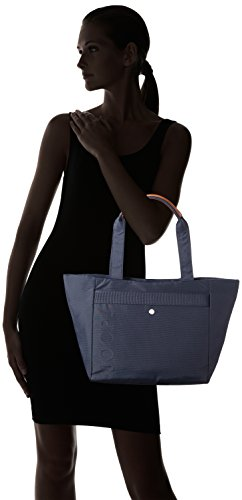 JOOP! Damen Nylon Naviga Helena Shopper Lhz Schultertaschen, 49 x 28 x 15 cm Blau (402)
