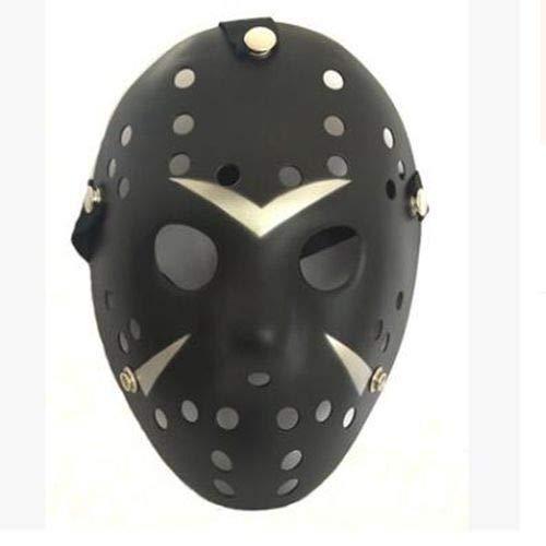 reitag der 13. Horror Hockey Cosplay Kostüm Halloween Killer Maskerade Maske Halloween Maske, Bildfarbe ()