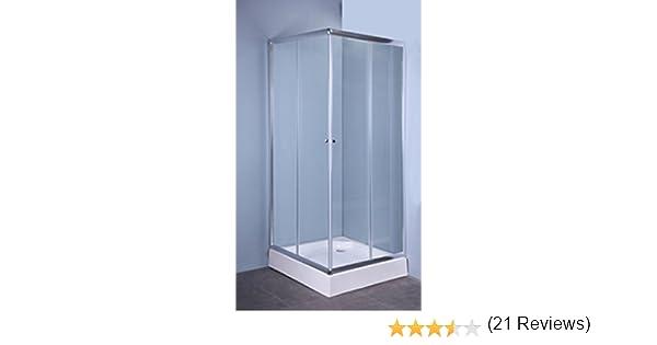 Cabina box doccia iglo ante cristallo trasparente mm