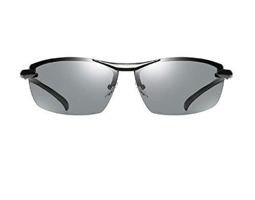 YANGSANJIN Polarisierte Unisex-Sonnenbrille, Modische Sonnenbrille - Polarisierte Spiegelgläser für Reisen, Fahren, Wandern