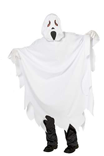 Karneval-Klamotten Geist Kostüm Kinder Halloween Geister Kostüm Gespenst Kostüm weiß Kinder-kostüm Größe 176 (Halloween Kinder Kostüme Geist)