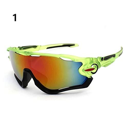 ZKAMUYLC SonnenbrilleUV400 Radfahren Brillen MTB Fahrrad Racing ski Winddicht Brille Outdoor Sport Brillen Eyewear Männer Frauen Sport Sonnenbrille