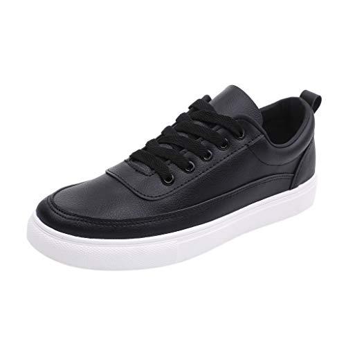 ODRD Schuhe Herren Mode Herren Lace Up Loafers Casual Sneakers Feste Flache Board Schuhe Wanderstiefel Hallenschuhe Worker Boots Laufschuhe Sportschuhe Wanderschuhe