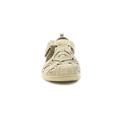 Earth Spirit Leder-Schuhe, für Damen, sportlich, für den Alltag, Grau Grau