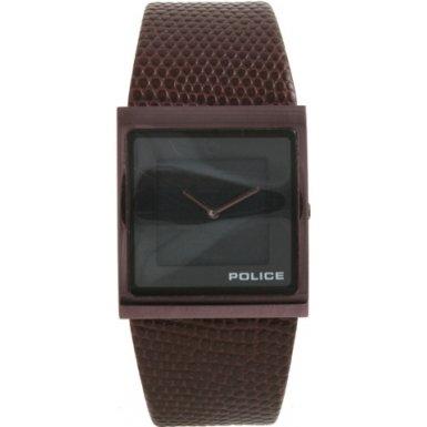 Police - P10849MSBN-02 - Montre Femme - Quartz - Analogique - Bracelet Cuir Marron