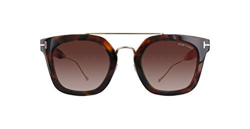 Tom Ford Herren Ft0541-55U-Braun Sonnenbrille, Braun, 51