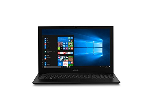 "Medion S6421 - Ordenador portátil de 15.6"" Full HD (Intel Core i5-6200U, RAM de 8 GB, SSD de 256 GB, Intel HD Graphics, Windows 10), negro. Teclado QWERTY español"