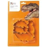 Faringdon Set 4 stampi per biscotti a forma di dinosauro