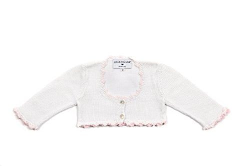 chiaraluna-golfino-girl-special-occasions-scaldacuore-100-cotton-white-and-rosa-corallo-4-anni-altez