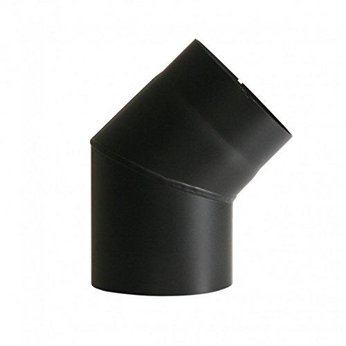 Kamino - Flam - Codo para chimenea de leña y estufa de...