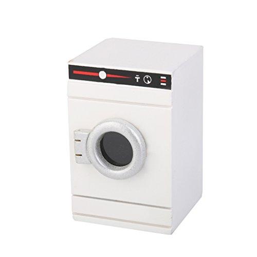 1:12 Puppenhaus Miniatur Waschmaschine, Puppenstube Badezimmer Zubehör