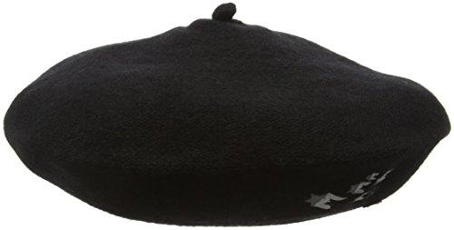 edc by ESPRIT Damen Baseball Cap 096CA1P008, Schwarz (Black 001), Medium (Herstellergröße: M)