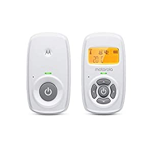 Motorola Baby MBP24 Audio Baby Monitor with Backlit Display and Two-Way Talk   1