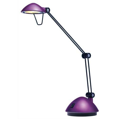 Hansa Halogen Tisch-Leuchte Space 20W lila Schreibtisch-Lampe Lese-Lampe Licht