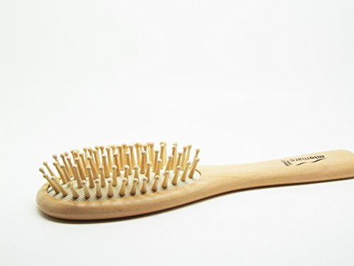 Brosse a cheveux. Bois