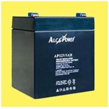 MICROELETTRONICA - Tamaño de la batería recargable hermética 12V 5Ah - (mm) 90x70x101 (h) 204 031