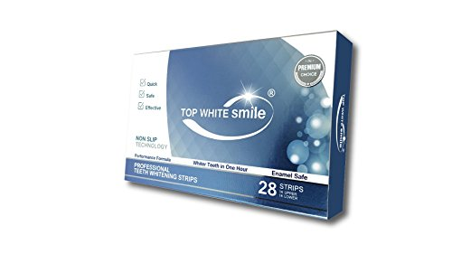 TOP WHITE SMILE PREMIUM CHOICE TEETH WHITENING STRIPS