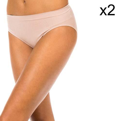 Unno DIM Basic Braguita para Mujer (Pack de 2)