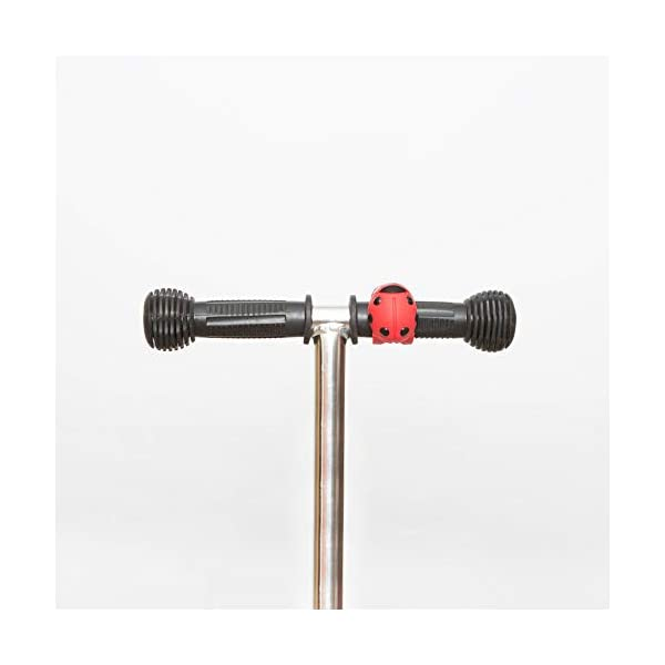 Scooti Lights Red with Black Spots Hippychick Fun ladybird design Simple to fit - loops around any buggy or scooter bar and secures with a hook Hard wearing - the stretchy silicone rubber strap is sturdy and designed so it perfectly fits all bars 5