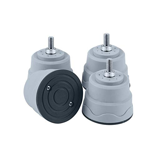 Rubyu Waschmaschinen Schwingungsdämpfer Unterlage, Waschmaschine Sockel Untergestell, Universal Vibrationsdämpfer für Trockner, Waschmaschine und Kühlschrank, Waschmaschinenzubehör