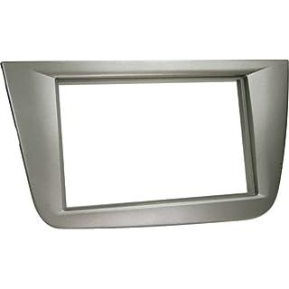 ACV 281328-04 2-DIN Radio Faceplate for Seat Altea/Altea XL/Toledo Anthracite
