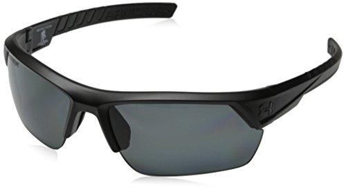 Unter der Rüstung Männer Zünder 2,0 Sturm WWP/ANSI 8631051-010108 Polarisierte Sonnenbrillen, Satin schwarz, 66 mm